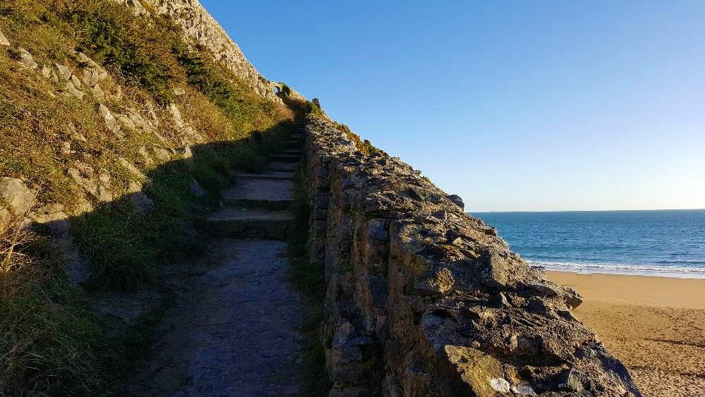 barafundle bay steps
