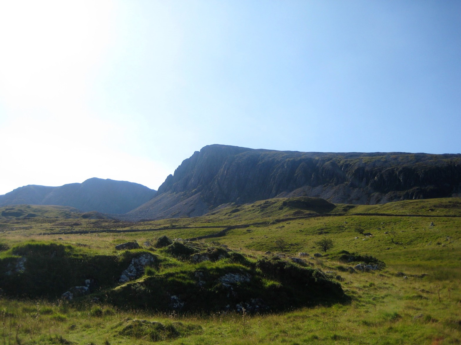 Cader Idris in Snowdonia with Mark Lewis Diving & Mountaineering Instructor