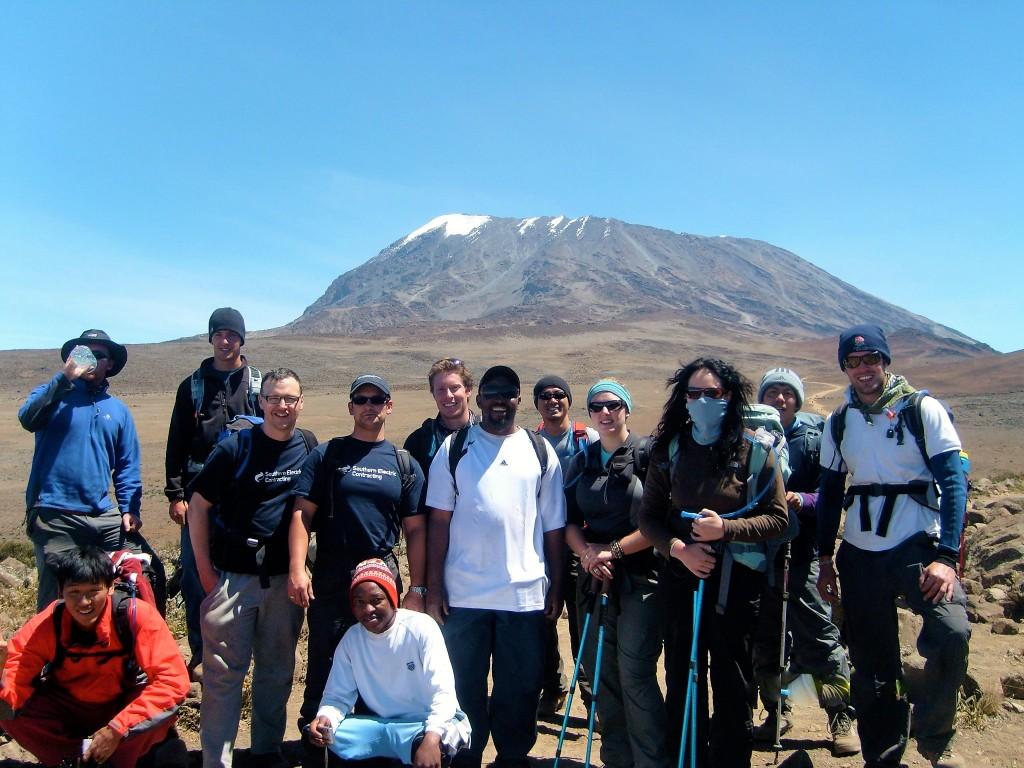 Charity climb on Kilimanjaro