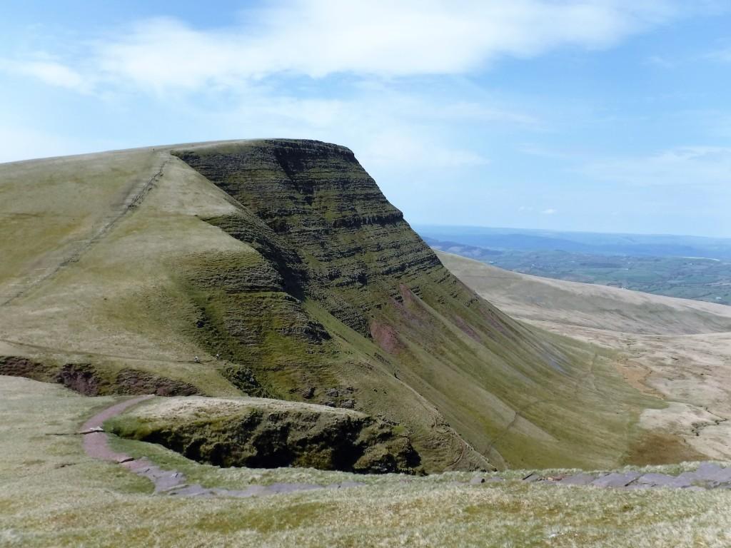 Fan Brycheiniog Escarpment in the Black Mountain