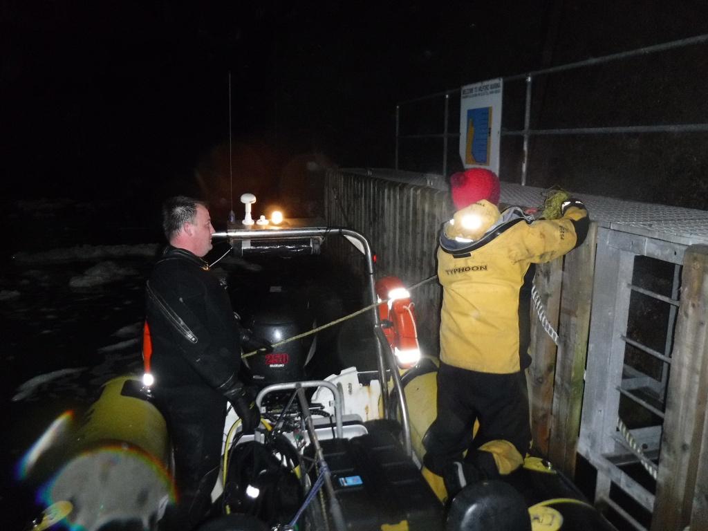 Night Diving Training
