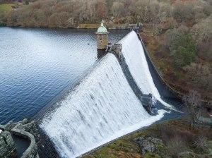Pennygarreg Dam at Elan Valley