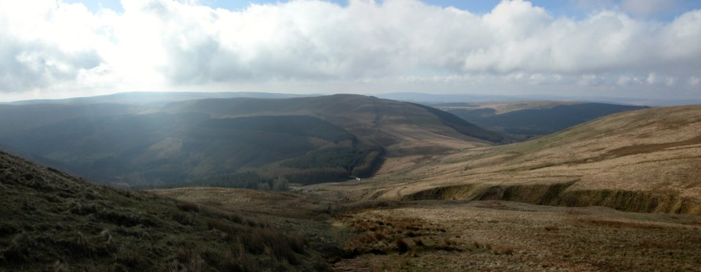 Torpantau in the Brecon Beacons