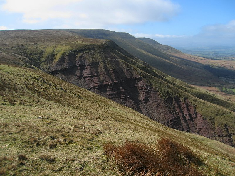 Waun Fach Mountain in the Black Mountains