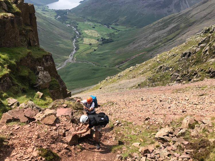 Great Gable via Sphinx Ridge