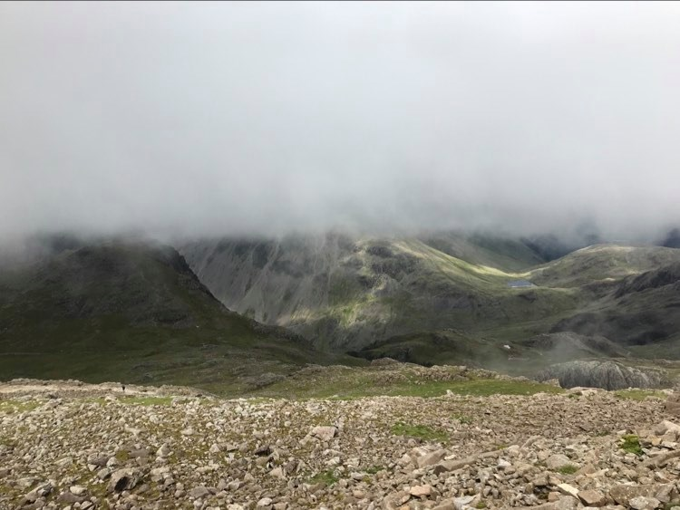 Wasdale below the cloud