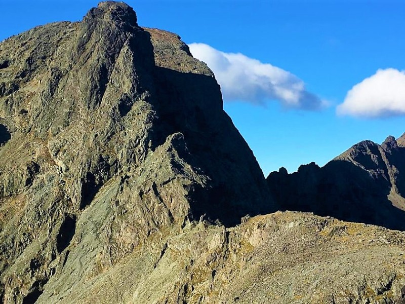An Stac and the In-Pinn on the Isle of Skye