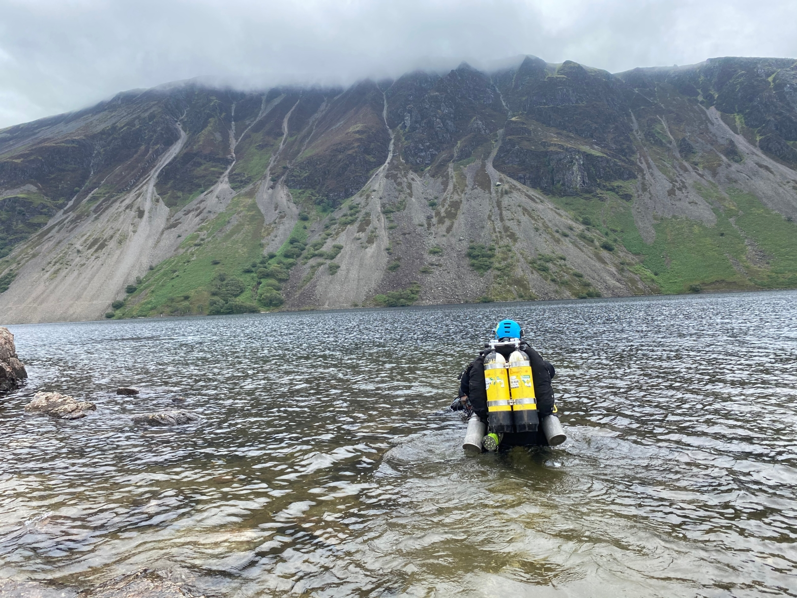 Guided Diving in Wastwater