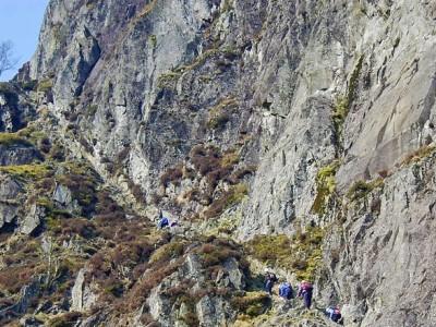 Jacks Rake Scramble in the Lake District