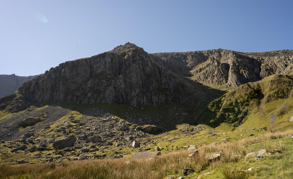 Llech Ddu Spur Ridge