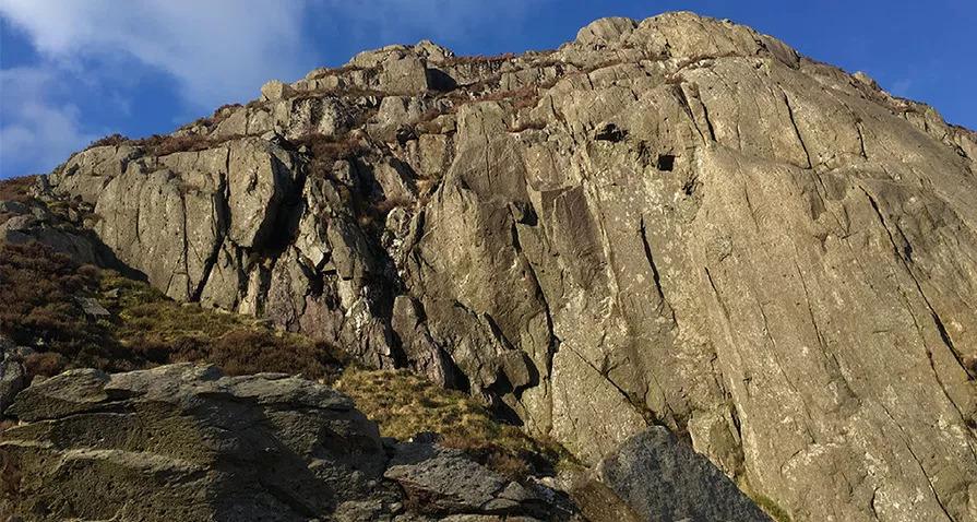 Crib y Ddysgls Llechog Ridge Scramble