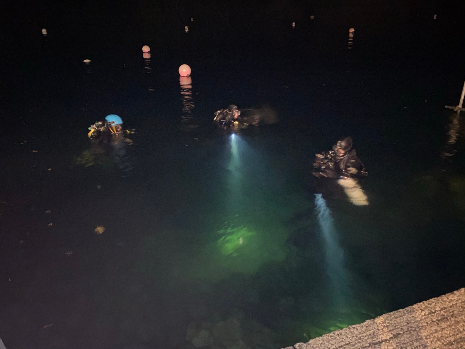 Night Diver Training