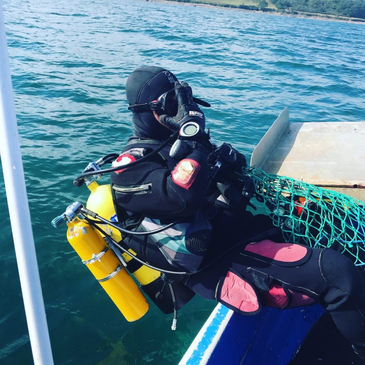 Scallop Diving