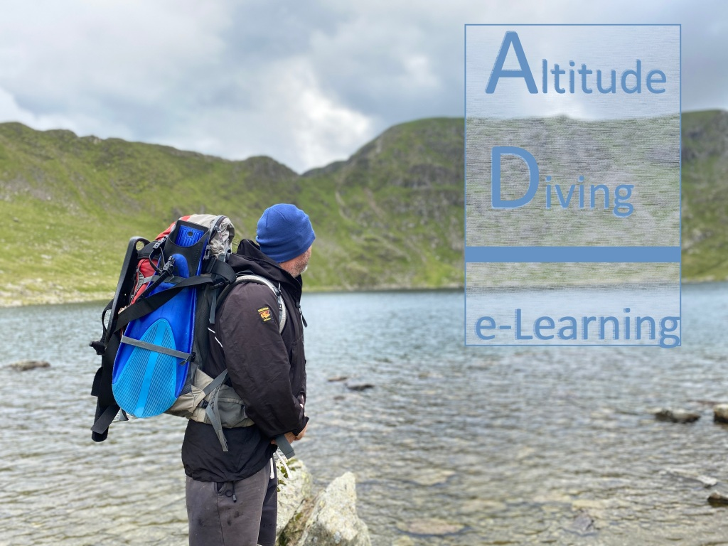 Altitude Diver Training with Mark Lewis Diving & Mountaineering Instructor