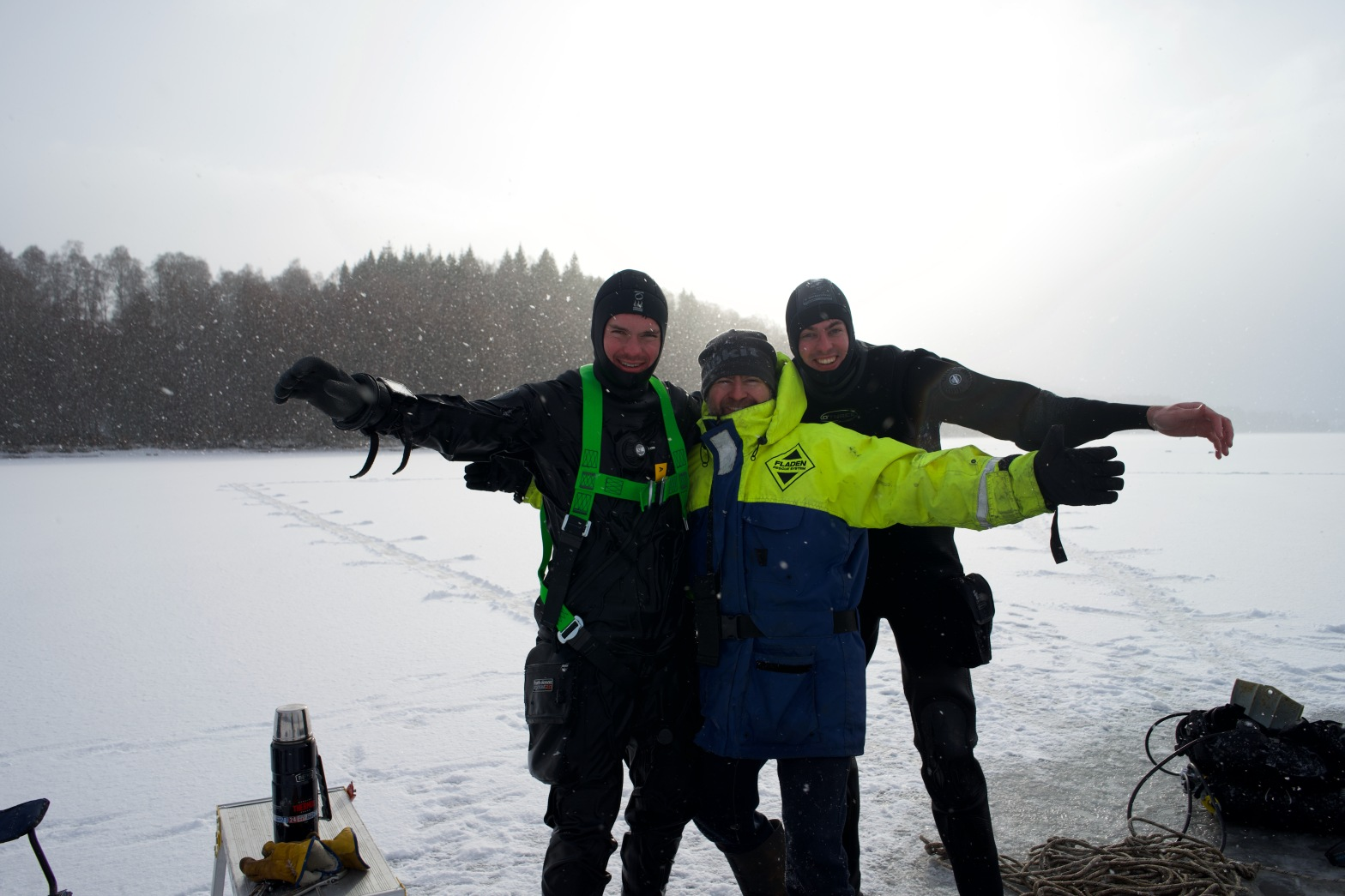 Ice Diving in the UK