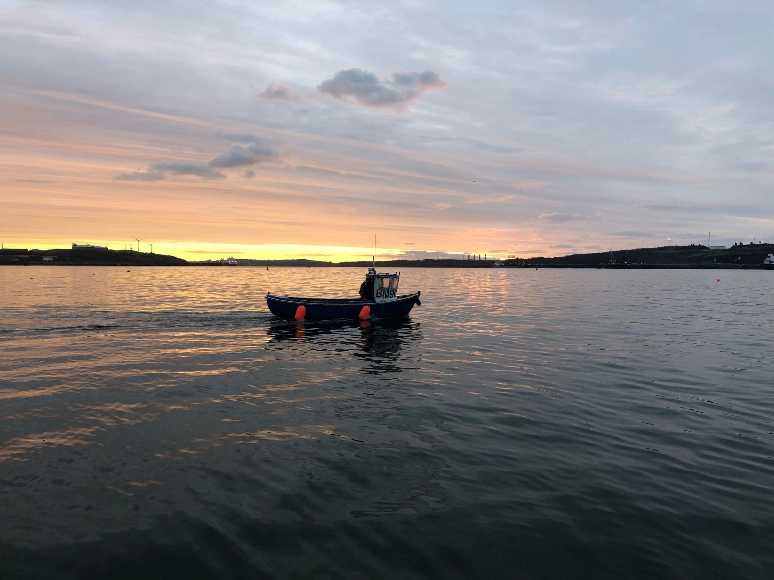 Living Waters - Pembrokeshire Scallop Boat