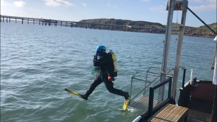 Scavenger Dive Boat Club based in Pembrokeshire, West Wales
