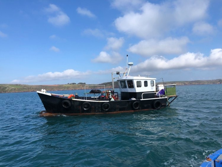 Scavenger Dive Boat Club based in Pembrokeshire, West Wales with Mark Lewis