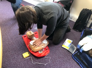 CPR with AED First Aid Training