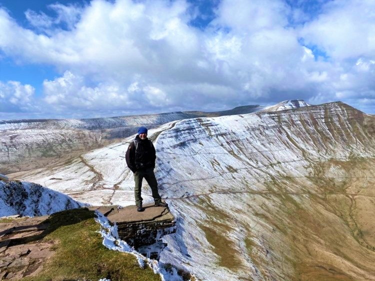 Mark Lewis Adventures in the Brecon Beacons